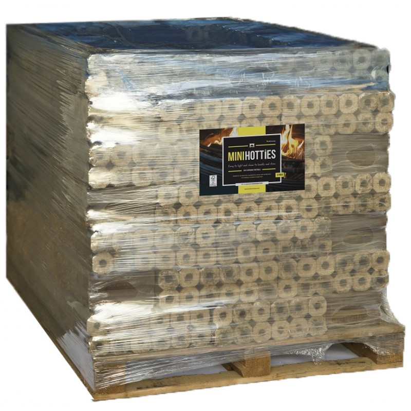 Mini Heatlogs Full Pallet