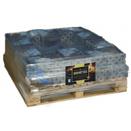Mini Heatlogs Quarter Pallet